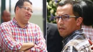 Debate entre periodistas Phillip Butters y Daniel Peredo