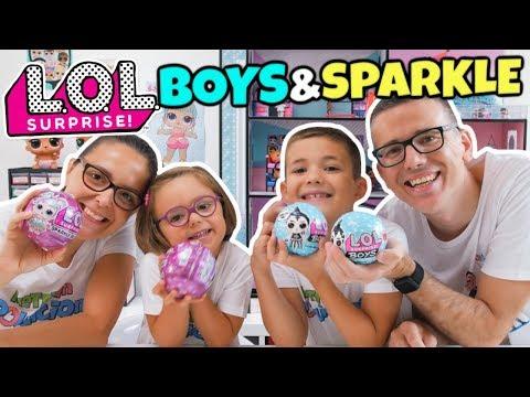 LOL SURPRISE APERTURA QUADRUPLA Boys e Sparkle Serie