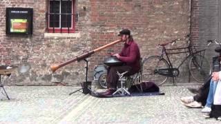 Straatmuzikant Brugge