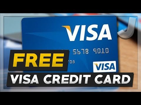 How To Get A FREE VIRTUAL VISA CREDIT CARD (Working 2017)