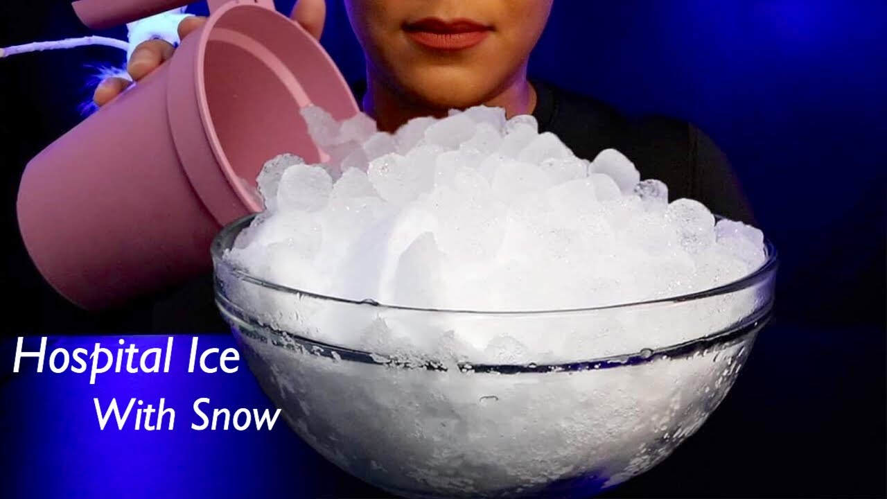 ASMR Hospital Ice/Powdery Snow (Remake Request) Throwback Thursday!