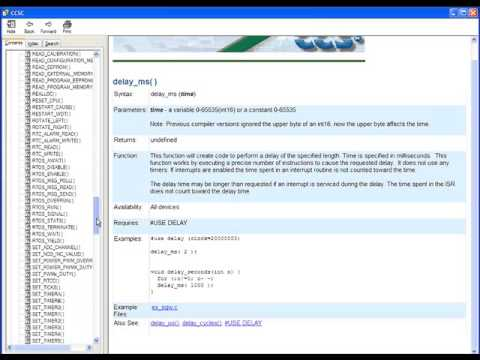 C Compiler Quick Start Video Tutorial