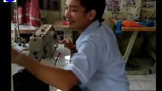 Menjahit dan Cara memotong pola Jaket bagian belakang