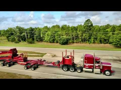 Heavy Haul Dual Lane transport in Florida