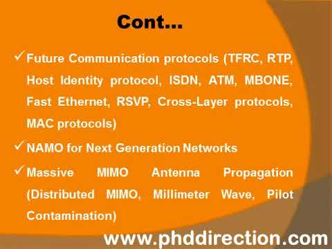 PhD Research Topics In Communication System | PhD Research Thesis Topics In Communication System