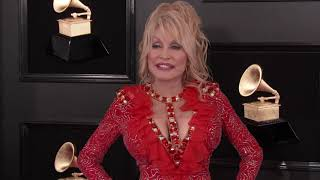 Dolly Parton On The Red Carpet   2019 GRAMMYs