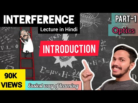 Part 1-Interference(optics) Engineering Physics Introduction in hindi