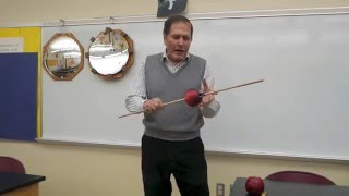 Feel the moment of inertia-Physics of toys  // Homemade Science with Bruce Yeany