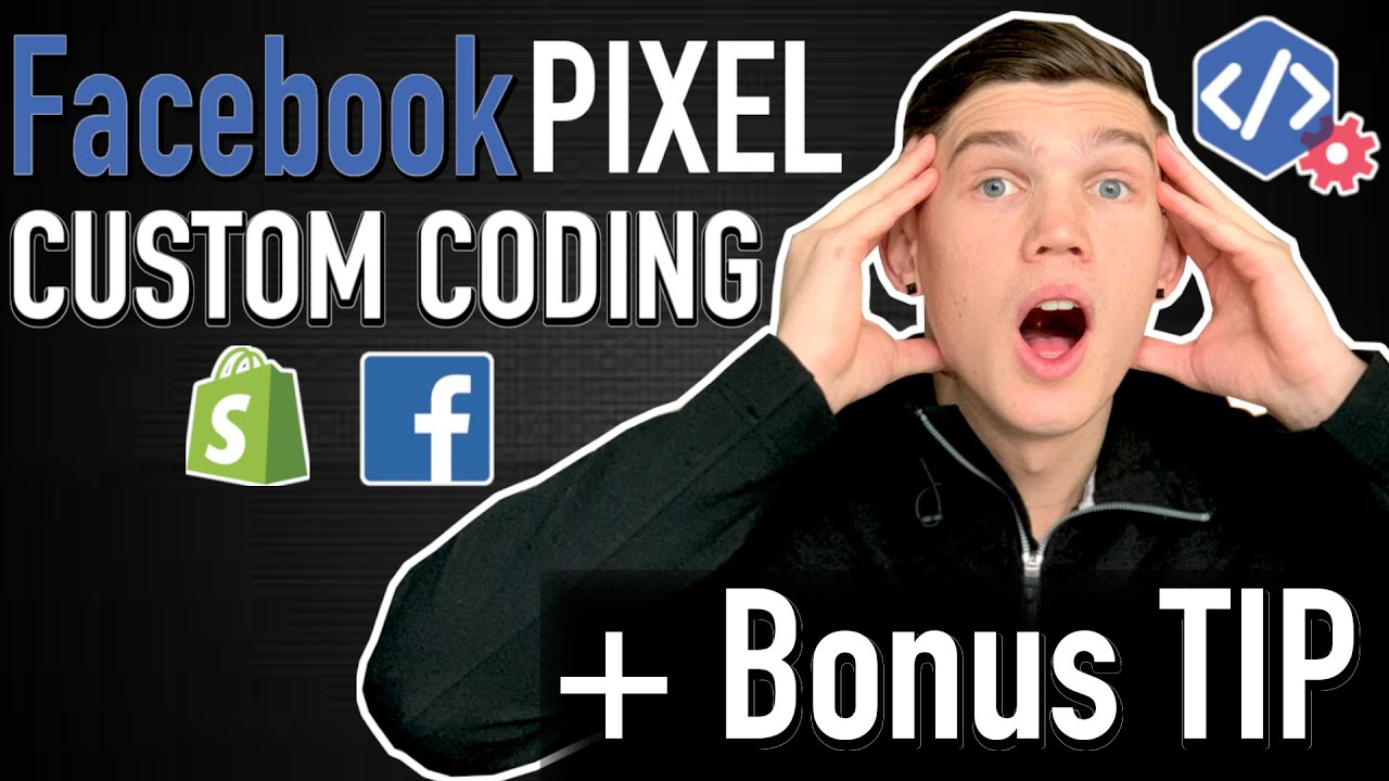 HOW To ADD Facebook PIXEL To SHOPIFY - Custom CODING (+Bonus TIP)