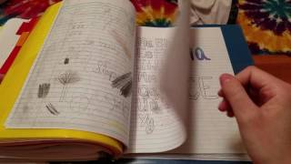 ASMR ~ Turning Pages ~ What's In My Algebra Binder