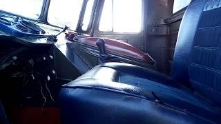 Перенес рычаг КПП ГАЗ 66. Теперь он в удобном месте.