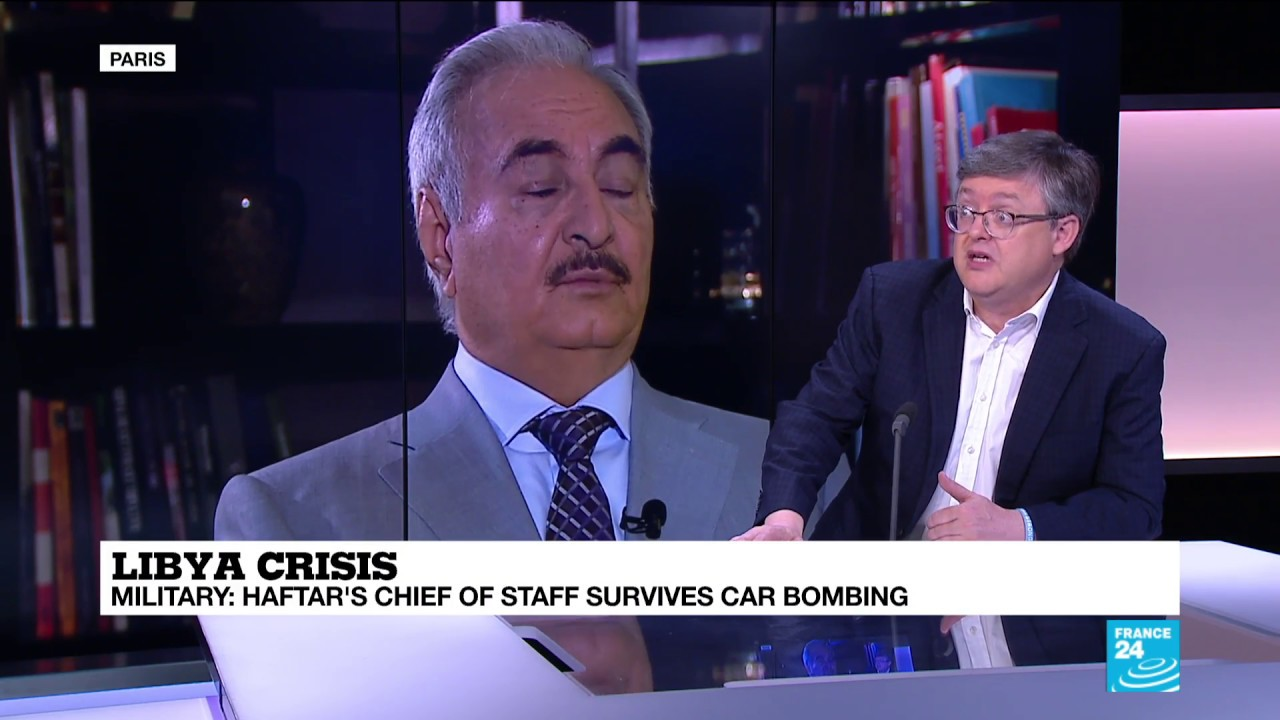 فرانس 24:Libya: Why Haftar's absence could tip the country into further chaos