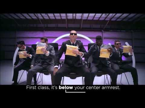 Virgin America Safety Video #VXsafetydance