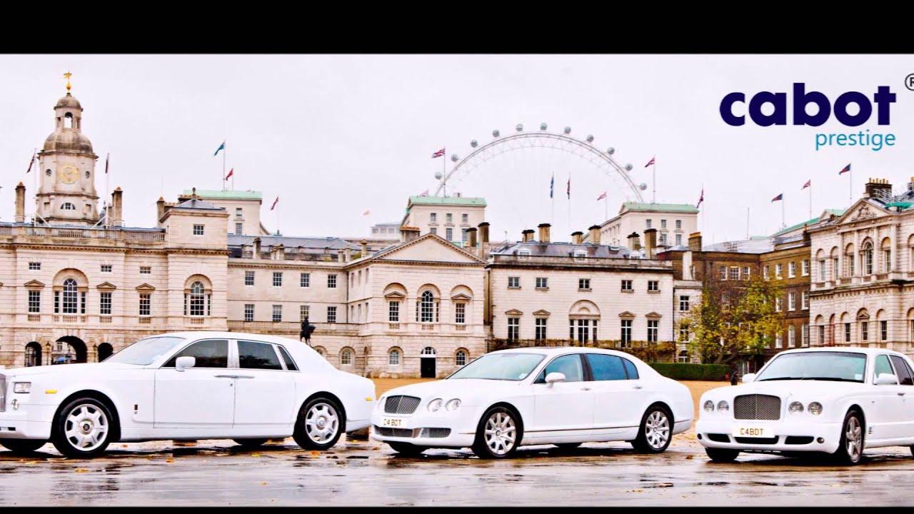 Luxury car hire in London - YouTube