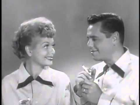 I Love Lucy cigarette commercials