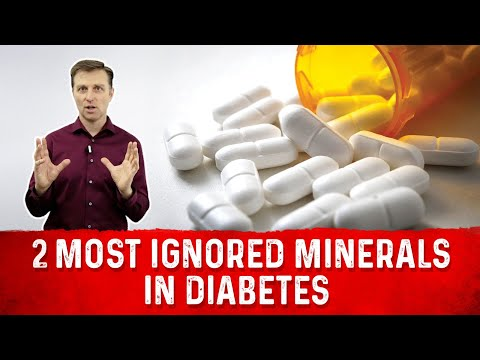 The 2 Most Ignored Minerals In Diabetes and Insulin Resistance