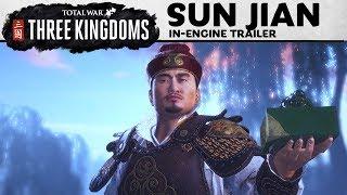Total War: THREE KINGDOMS – Sun Jian In-Engine Trailer