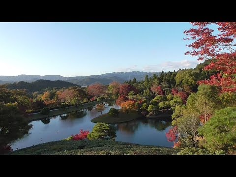 京都 紅葉の修学院離宮 Shugakuin Imperial Villa in autumn leaves, Kyoto