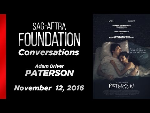 Conversations with Adam Driver of PATERSON