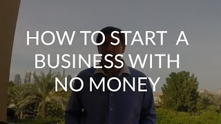 Peter Sage: How to Start a Business With No Money