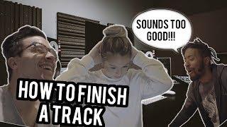 HOW TO FINISH A SONG (LOGIC PRO X) - MAYE studio vlogs episode 3