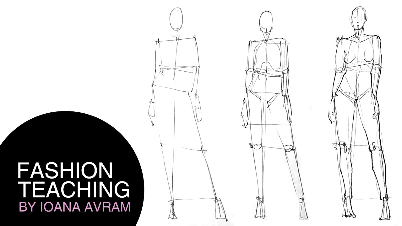 Body Sketches For Fashion Design Men