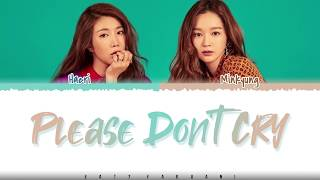 Gambar cover DAVICHI  – 'PLEASE DON'T CRY' (The King OST Part 6) Lyrics [Color Coded_Han_Rom_Eng]