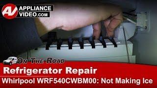 Whirlpool, KitchenAid  Refrigerator  Not making ice  Diagnostic & Repair