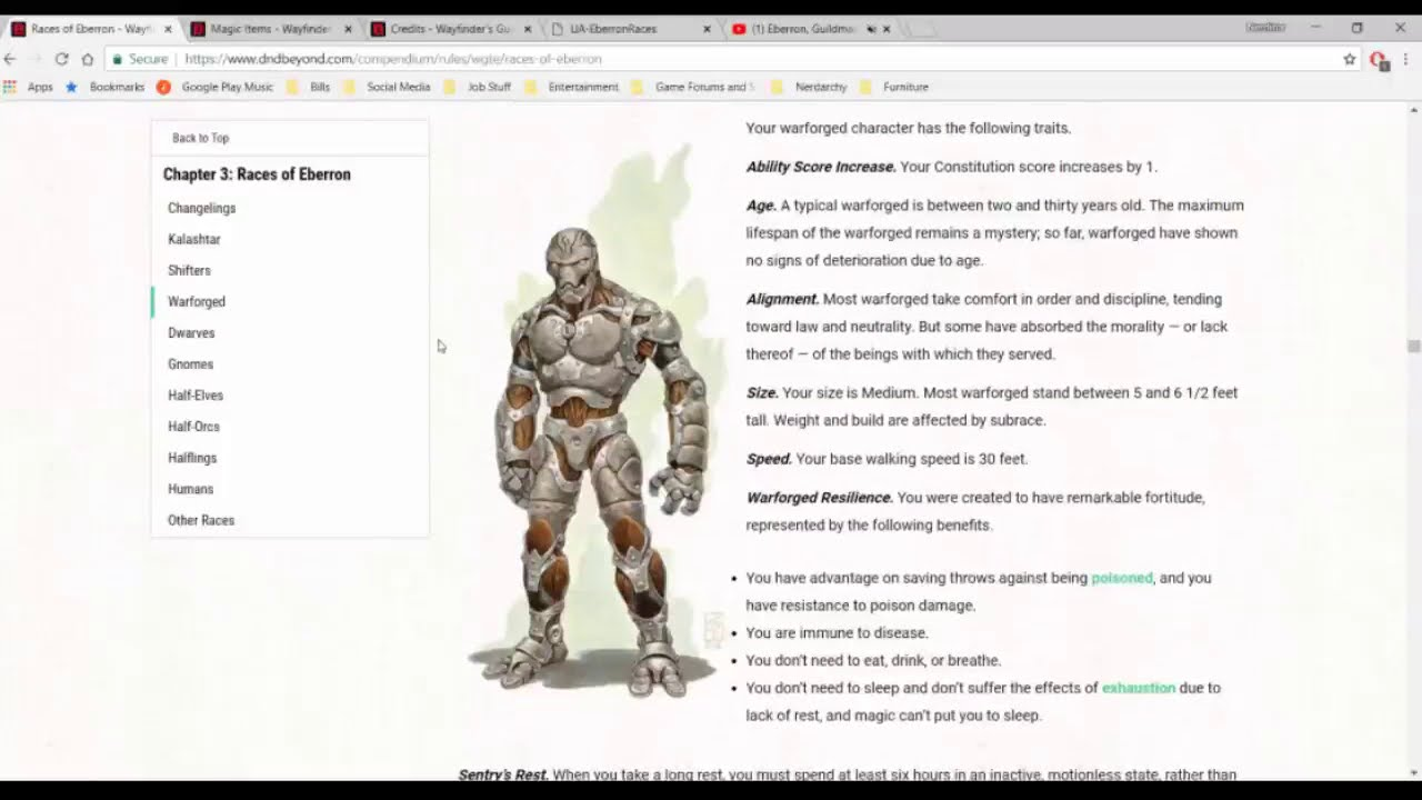 Eberron, Guildmasters' Guide To Ravnica, And Unearthed Arcana From Wotc   Nerdarchy 01:01:19 HD