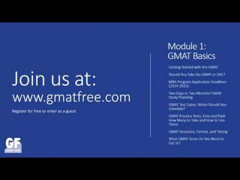 GMAT Free - The World's Free GMAT Test Prep Course