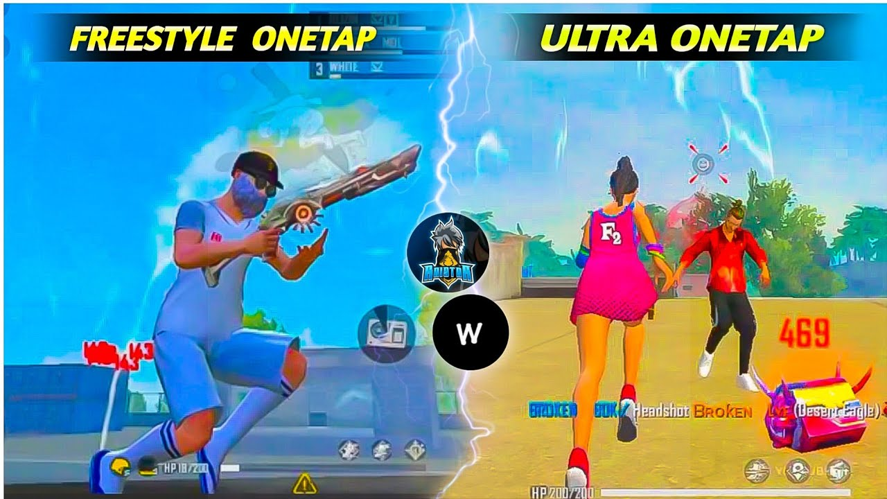 Download White ff FreeStyle One Tap Headshot Trick | Ultra Fast One Tap Headshot Trick | Free Style OneTap