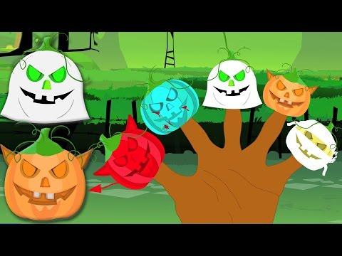 Страшные тыквы Палец Семья | Детского стишка | Хэллоуин песня | Scary Pumpkin Finger Family