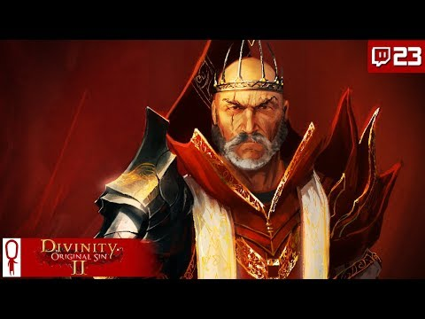 BISHOP ALEXANDER FIGHT - Divinity Original Sin 2 Gameplay Part 23 - [Coop Multiplayer][Twitch]