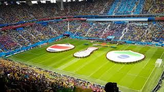 Download Video Brazil's national anthem - Brazil vs Costa Rica MP3 3GP MP4