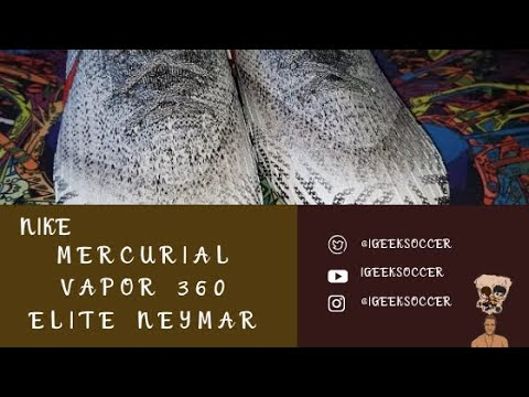 satélite carpintero rima  Nike Mercurial Vapor 360 Elite Neymar Jr FG Full Review - YouTube