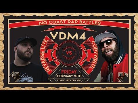 Copywrite vs Reverse Live - No Coast Raps | #VDM4