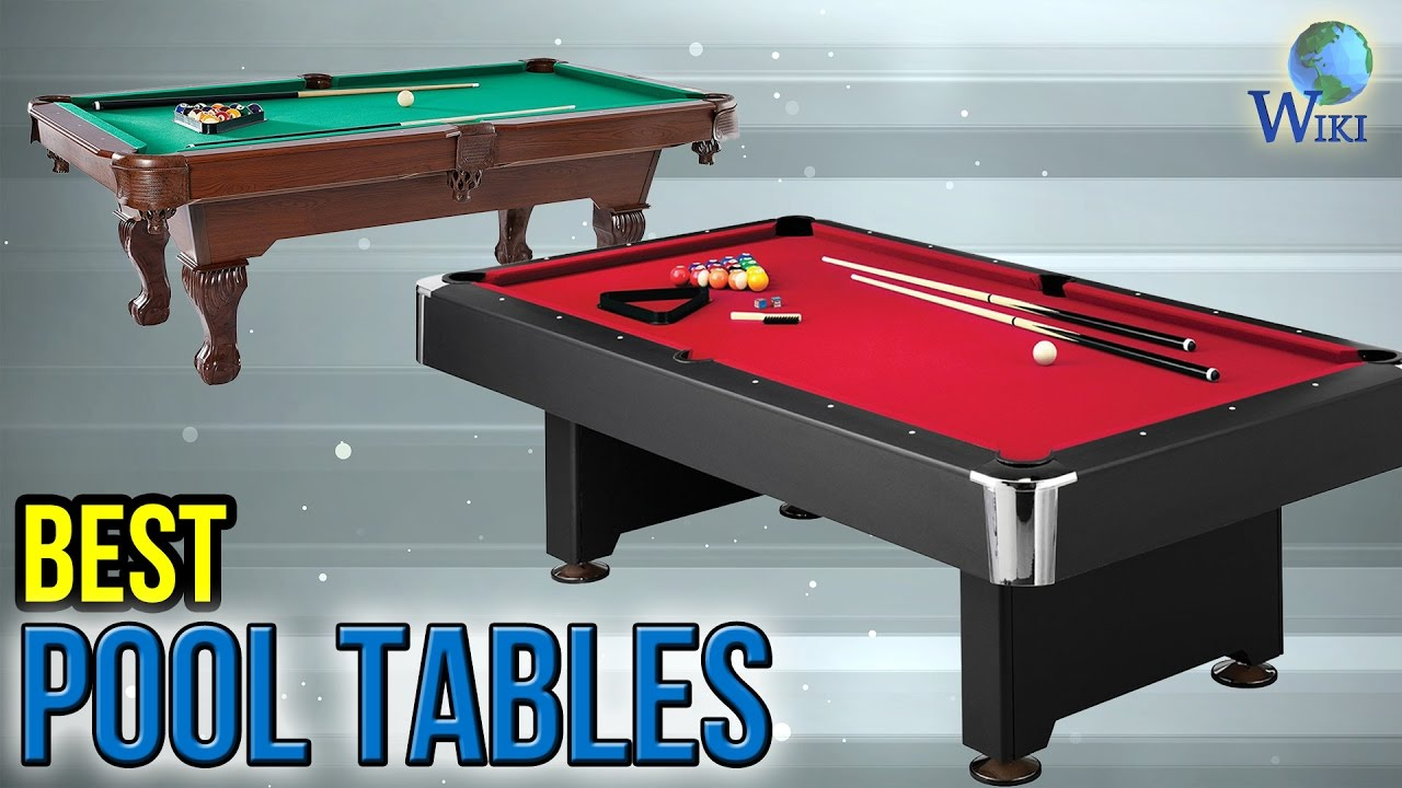 Best Pool Tables YouTube - Red top pool table