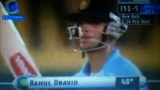 Rahul Dravid 50 in Just 22 Balls Amazing Innings !