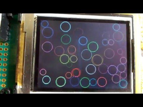 Sony Ericsson K800i LCD