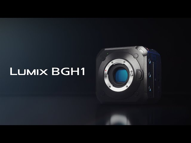 Introducing LUMIX BGH1 | The brand's first Box-Style Mirrorless Cinema and Live Camera