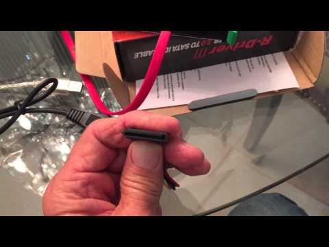 How to Extract Data using SATA HDD Hard Drive Converter Adapter Cable