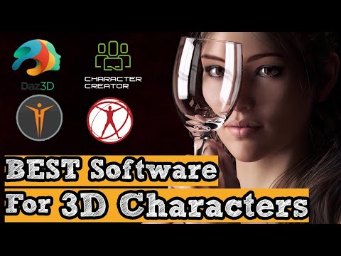 Best 3D Software For Character Creation