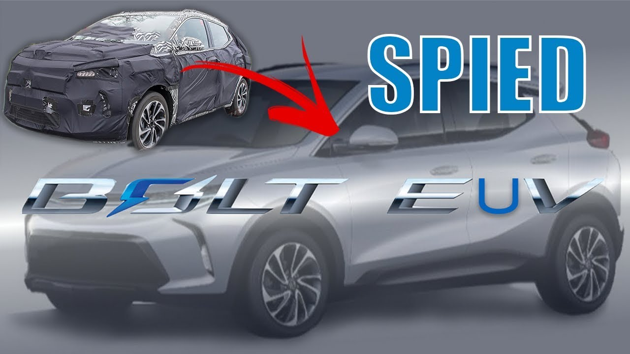 Chevy Bolt Euv Spied On The Road Youtube