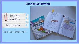 curriculum review english 3 bob jones english and writing