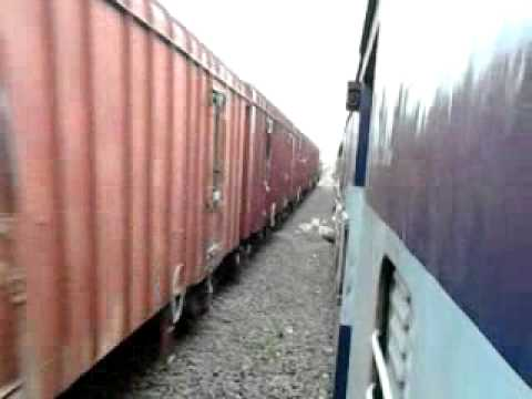 12150 Patna Pune SF Crosses with BCNA post Maihar