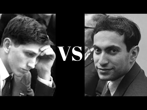 Exciting notable chess game: Bobby Fischer vs Mikhail Tal: Sicilian defence: Sozin :  Cands (1959)