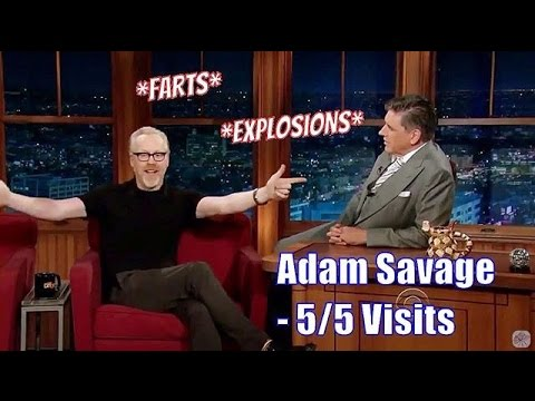 Adam Savage - Gives Craig His Fart, You Read It Right - 5/5 Visits In Chron. Order [360-720p]