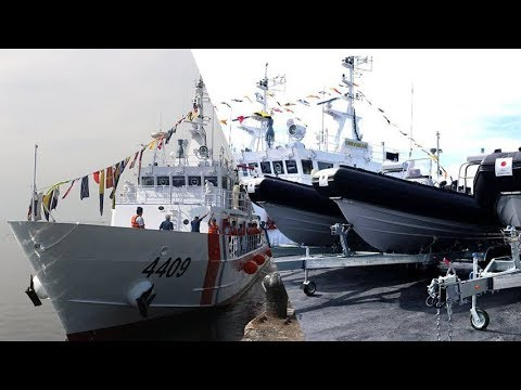 Philippine Coast Guard 2018 - Commissioned  Additional Ship and High Speed Boat from Japan