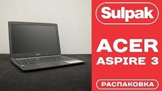 Ноутбук Acer Aspire 3 A315-33 (NX.GY3ER.020) розпакування (www.sulpak.kz)