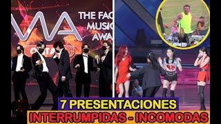 7 PRESENTACIONES INTERRUMPIDAS ABRUPTAMENTE !!